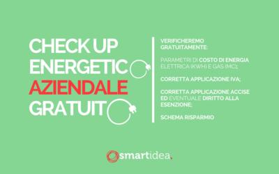 Check Up Energetico GRATUITOper la tua azienda: chiedici come!