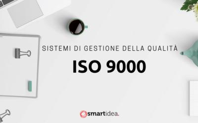 Sistemi di gestione della qualità: per il tuo percorso ISO 9000, chiedici come fare!
